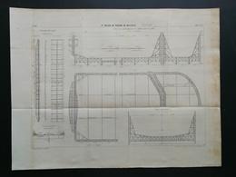 ANNALES PONTS Et CHAUSSEES (DEP 83) - 3ème Bassin De Radoub De Missiessy - Imp. L . Courtier 1899 (CLB67) - Travaux Publics