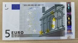 5 EURO IRELAND T K001 AUNC DUISENBERG - EURO