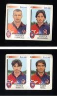 Calciatori Panini 1997-1998 - Cagliari 2 Figurine - Panini