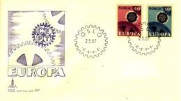 *1967 - NORVEGIA - EUROPA - BUSTA FDC. - FDC