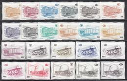 1980  Yvert Nº 433 / 454  /**/ - Ferrocarril