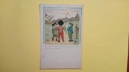 """Cartolina Serie """"I Bambini E La Guerra"""" - Cartoline Umoristiche"""