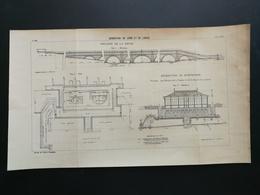 ANNALES PONTS Et CHAUSSEES - Dérivation Du Long Et Du Lunain - 1905 (CLB68) - Travaux Publics