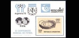 Argentina Soccer Football Stade Stadium 700p MNH ** Neuf SC (A51-40a) - Nuovi