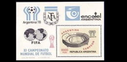 Argentina Soccer Football Stade Stadium 1000p MNH ** Neuf SC (A51-41b) - Coppa Del Mondo