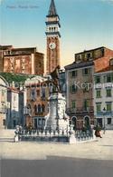 43502693 Pirano Piazza Tartine Kuenstlerkarte Pirano - Slovenia