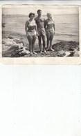 """UKRAINE. #1600 A PHOTO. """"Crimea. Evpatoriya. Beach, Swimsuit. BEAUTIFUL COUPLE. *** - Proyectores De Cine"""