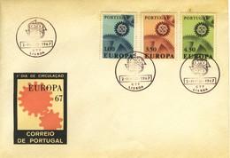 1967 - PORTOGALLO - EUROPA - BUSTA FDC. - FDC