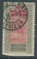 Haut Senegal Niger Yvert N°28 Cachet Mopti - Haut-Sénégal Et Niger (1904-1921)