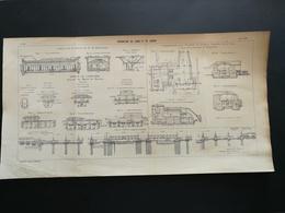 ANNALES PONTS Et CHAUSSEES - Dérivation Du Long Et Lunain - Imp. L. Courtier 1905 (CLB70) - Travaux Publics