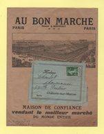 Type Semeuse - 5c Sur Bande Illustree Au Bon Marche - Paris Periodique 1916 - 1877-1920: Période Semi Moderne