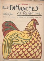 LES DIMANCHES DE LA FEMME - 1924 - 1900 - 1949