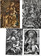 3020v: 8 AKs Madonna Michael Pachers, Franziskanerkirche In Salzburg. Ungelaufen, Um 1955 - Salzburg Stadt