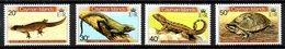 CAÏMANES. N°474-7 De 1981. Lézard/Iguane/Tortue. - Reptiles & Batraciens