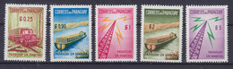 Paraguay 1961 Mi. 882-86 Aufbau Des Landes MNH** - Paraguay
