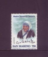 San Marino 1996 - Madre Teresa Di Calcutta, 1v MNH** Integro - Nuovi
