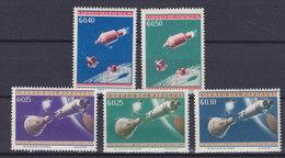 Paraguay 1964 Mi. 1295-99 Weltraumforschung MNH** - Paraguay