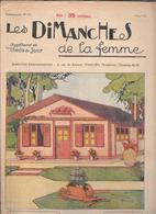 LES DIMANCHES DE LA FEMME - 1924 - Libri, Riviste, Fumetti