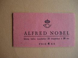 Suède. C326a** Complet. Centenaire De La Mort D'Alfred Nobel - Carnets