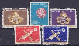 Paraguay 1964 Mi. 1311-15 Raumfahrt MNH** - Paraguay