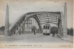 MULHOUSE :Le Pont D'Altkirch Et  Son Tramway - Mulhouse