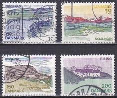 Denmark/1977 - Provincial Series South Jutland /Landsdelsserie Sydjylland - Set - USED - Used Stamps