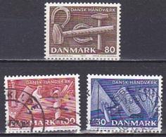 Denmark/1977 - Danish Crafts/Dansk Håndværk - Set - USED - Used Stamps