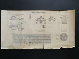 ANNALES PONTS Et CHAUSSEES (DEP 13) - Tramways électriques De Marseille - Gravé Par C. Meyer 1902 (CLB73) - Public Works