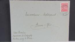 OPD: Fern-Brief Mit 12 Pf Ziffern West-Sachsen Gezähnt EF Aus Der Reichspostportozeit (bis 28.1.46) Vom 4.2.45 Knr: 132X - Zone Soviétique