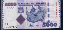 TANZANIA P43b 5000 Shillings 2010 #DR UNC. - Tanzanie