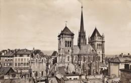 AO69 Geneve Et Les Tours De St. Pierre - RPPC - GE Geneva