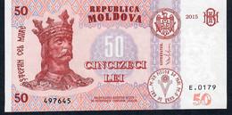 MOLDOVA P24 50 Lei 2015 UNC. - Moldova