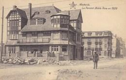Westende, La Pension Noble Rose En 1928 (pk58764) - Westende