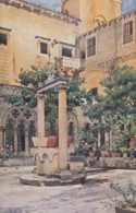 AO70 Dubrovnik, Dominikanski Klaustar - Art Postcard - Croatia