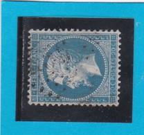 N° 22  GC  456  BESANCON  / 24 - DOUBS  - REF 14116 - 1862 Napoleon III