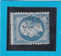 N° 22  GC  524  BONNEVAL  / 27 - EURE ET LOIR  - REF 14116 + VARIETE - 1862 Napoleon III