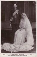 AP43 Royalty - The Royal Wedding, HRH Princess Mary And Lord Lascelles - RPPC - Royal Families