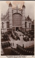 AP43 Royalty - The Funeral Of HM King George V - RPPC - Royal Families