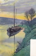 AP43 Shipping - A River Boat - Early Undivided Back - Cargos