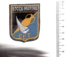 REF ENV : Ecusson Tissus : Rocca Marina CET - Patches
