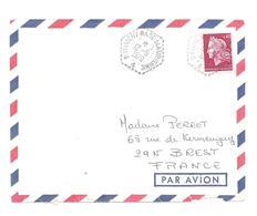 """ENVELOPPE POSTE NAVALE  """" BATIMENT - BASE - MAURIENNE """"   DU 12 - 5 - 1970  CAD HEX - Marcophilie (Lettres)"""