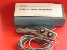 Magnetic Guitar Microphone - Zubehör & Versandtaschen