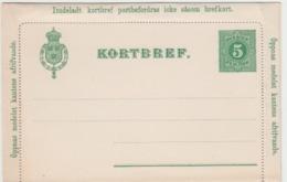 SWEDEN KORTBRIEF - Entiers Postaux
