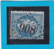 N° 22  GC  908   CHARTRES  / 27 - EURE Et LOIR  - REF 14116 - 1862 Napoleon III