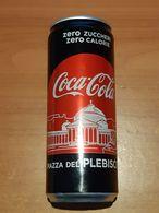 Lattina Italia - Coca Cola Zero - 33 Cl.  -  Piazza Plebiscito 2019 - Lattine