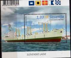 2016 Slovenia  - Ships Of Slovenia III- Frachtmotorschiff Piran (1959) - MS  MNH** MI Block 88 - Slovénie