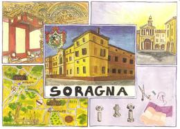 ITALIA - 1997 SORAGNA (PR) 20^ Mostra Artigianato Agricoltura Commercio Su Cartolina Speciale - Vacanze & Turismo