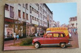 TALANGE - Le Centre Commercial - Renault 4L Et Estafette Publicité Philips ( 57 Moselle ) - Talange