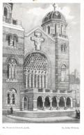 R102429 St. Francis Church. Cork. John Wilson. Fergus Studio - Postcards