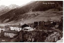 SUISSE - BOURG ST-PIERRE - (format 9X14) - VS Valais